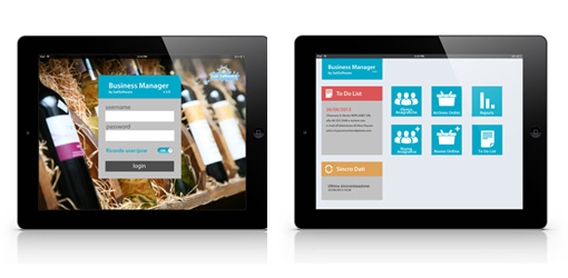 App iPad Gestionale Cantine